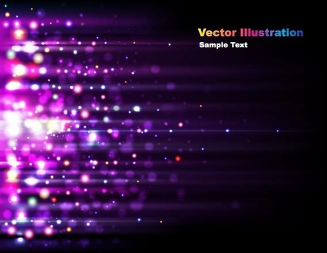 the gorgeous starstudded background 04 vector