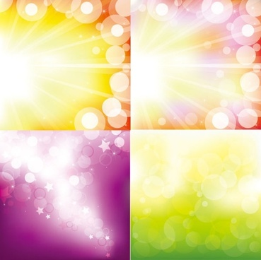 the gorgeous starstudded background vector