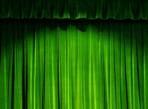 the green curtain of highdefinition picture