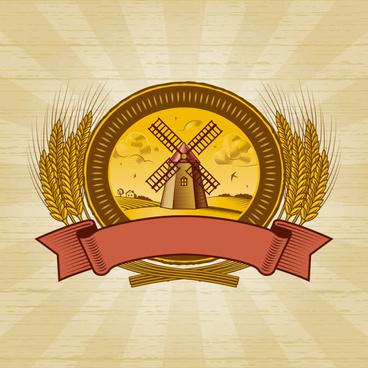 the harvest season cartoon vector
