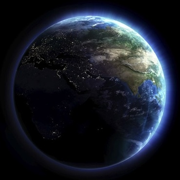 the luminescence earth picture