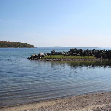 the michigan shoreline