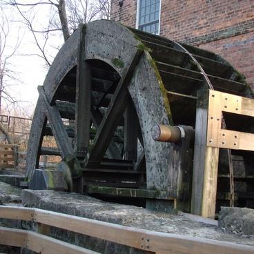 the mill wheel at salt creek
