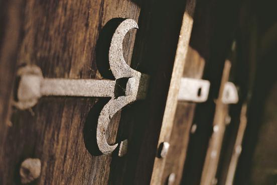 the monks door