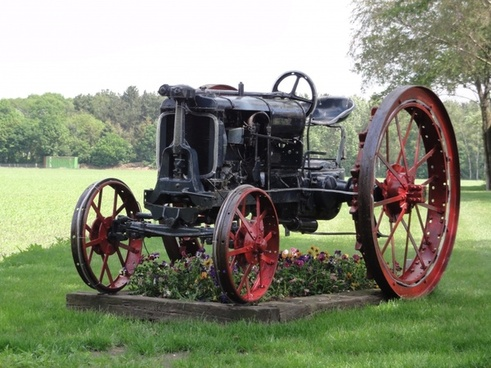 the netherlands tractor old
