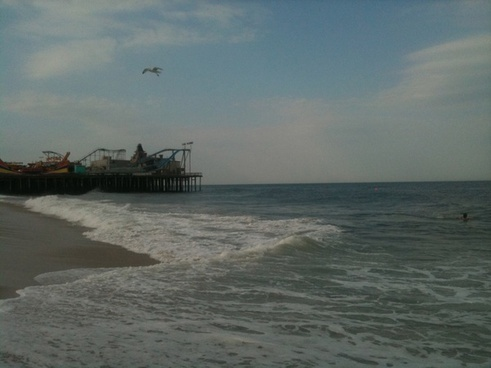 the pier at seaside