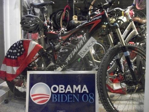 the presidents bike