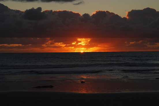 the pretty close to perfect beach sunset city beach oceanside ca 112210