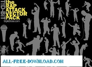 The Rap Attack Vector Pack