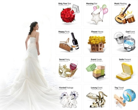 Wedding psd layered free psd download 1535 Free psd for