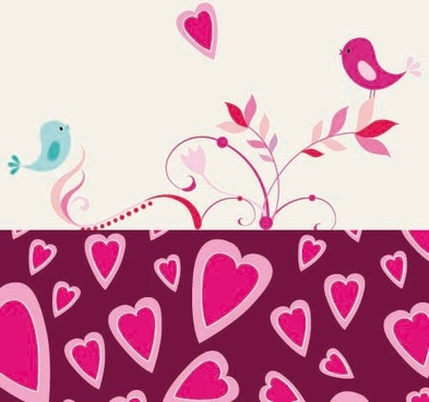 the romantic cartoon handpainted illustrations 03 vector