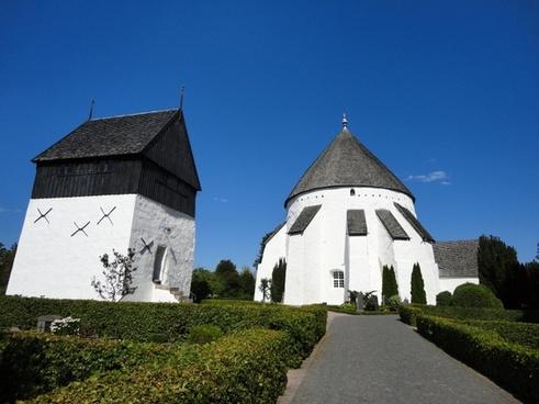 the round church bornholm denmark