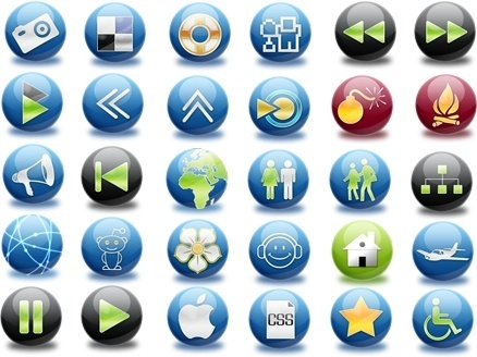 The Spherical Icon Set icons pack