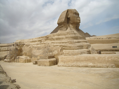 the sphinx at giza ii