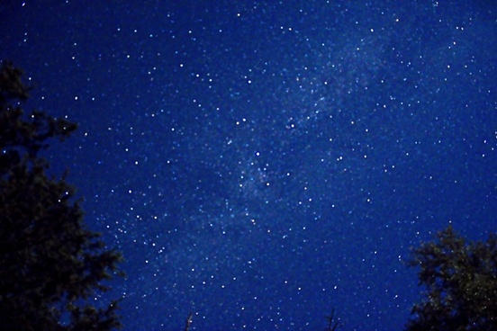 the starry skies at wildcat mountain state park wisconsin