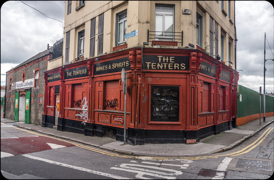 the tenters pub the liberties of dublin a walking tour lead by pat liddy
