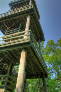 the tower at hoffman hills state recreation area wisconsin