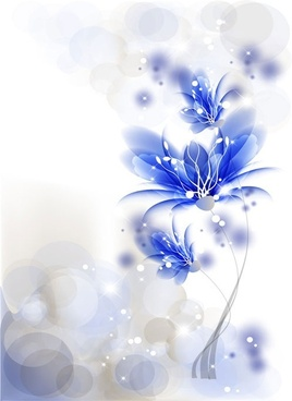 the trend flowers background 04 vector