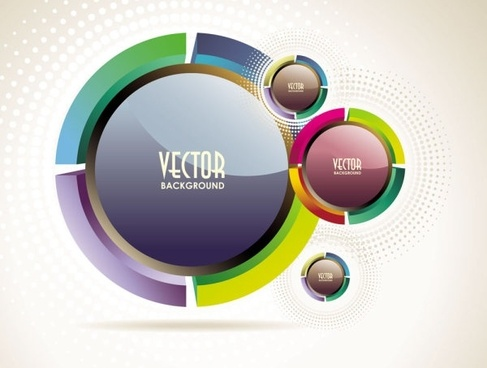 the trend of dynamic flare background 03 vector