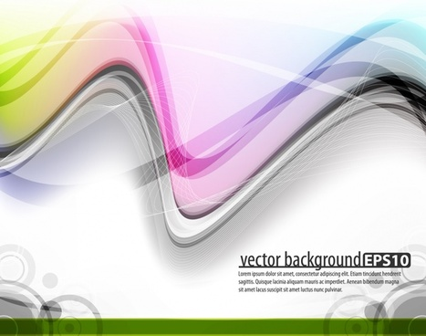 decorative background modern colorful dynamic decor