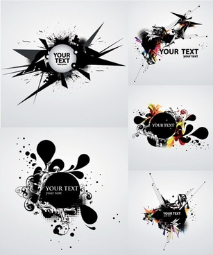 the trend of dynamic vector ink background