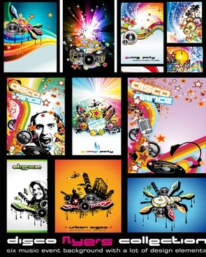 the trend of music style pictures vector