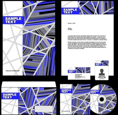 the trend of packaging cover design 03 vector