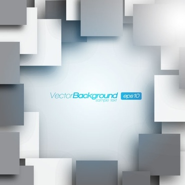 the trend of threedimensional background 04 vector