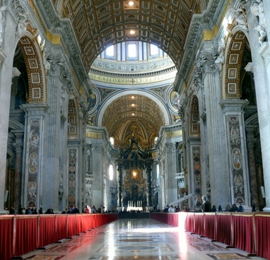 the vatican cathedral of st peter rome