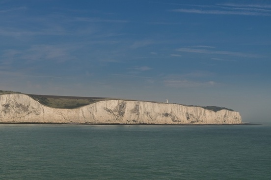 the white cliff of dover