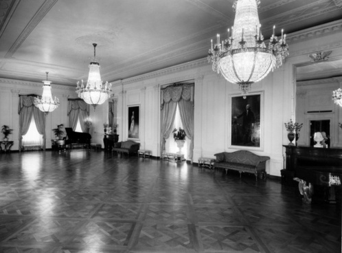 the white house black and white 1952