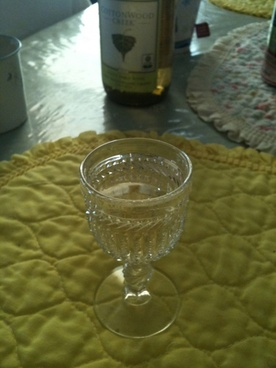the wine goblet