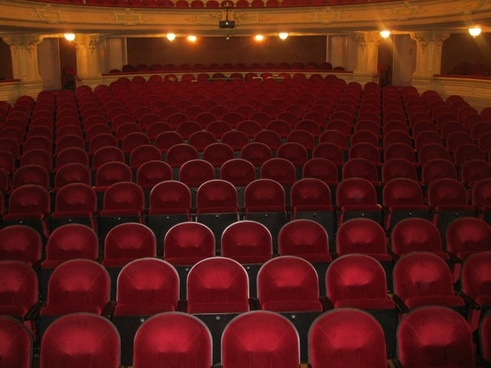 theater seating audience
