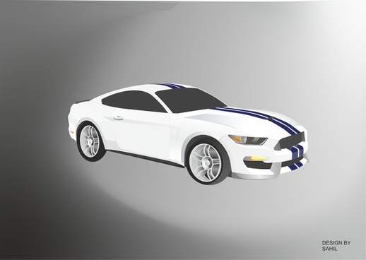 this is muscle car mustang