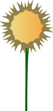 Thistle Flower clip art