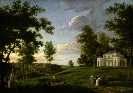 thomas birch painting oil on canvas