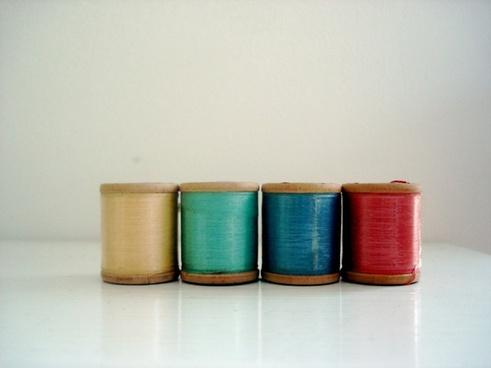 thread spools sewing