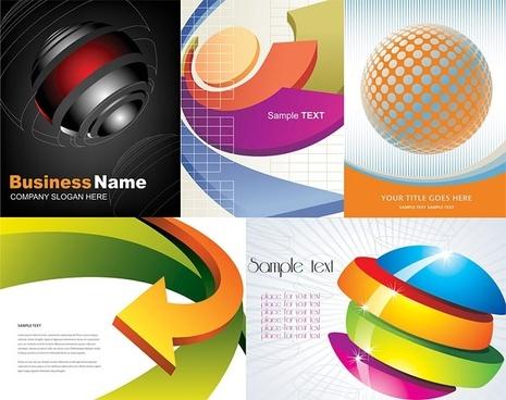 threedimensional background of vector graphic
