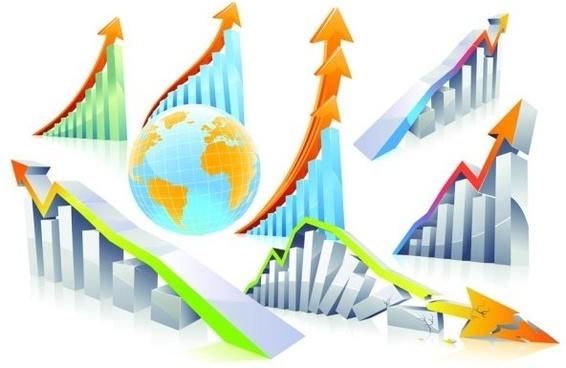 threedimensional vector line charts