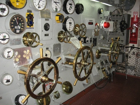 throttle panel control uss midway