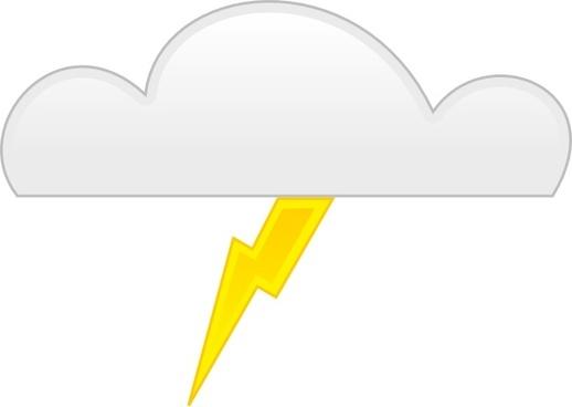 Thunder clip art