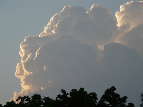 thundercloud storm weather