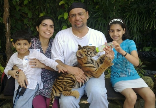 tiger bangkok family
