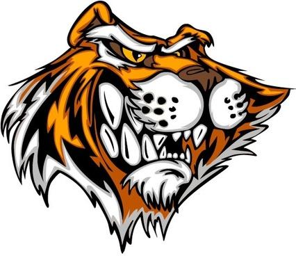 tiger image 21 vector