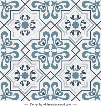 tile pattern template elegant classic decor repeating symmetry