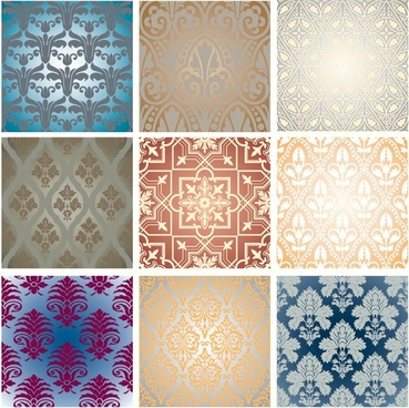 fabric tile pattern templates classical repeating symmetric decor