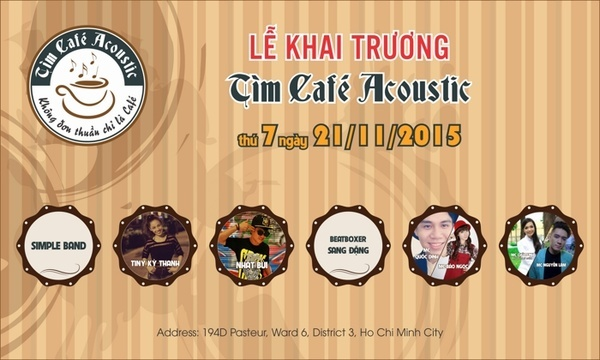 tim cafe grand opening