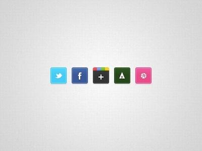 Tiny Social Icons