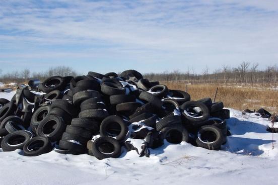 tire heap