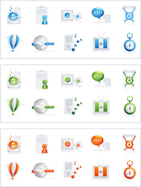 today series icon 3 vector